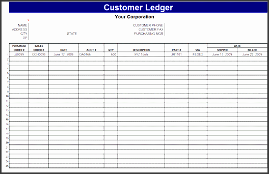 9 general ledger spreadsheet template - sampletemplatess
