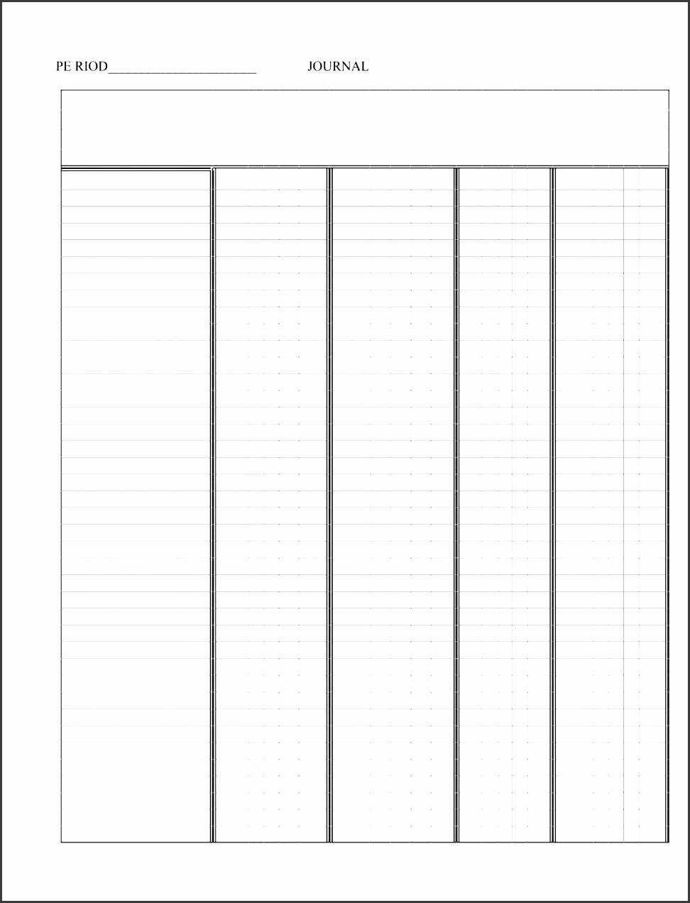 general ledger template pdf