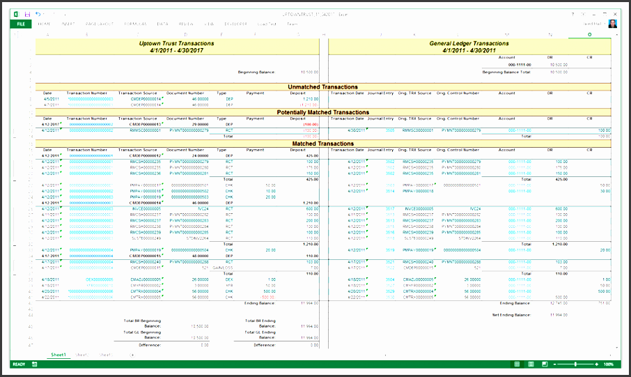 7 general ledger template excel 2010 review