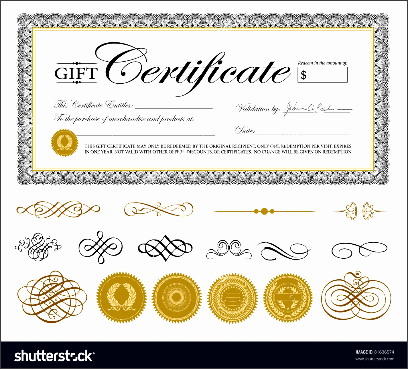 5 gift certificate template easy to use sampletemplatess t certificate template 1betcityfo Gallery