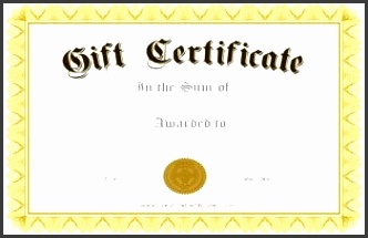 very formal t certificate template with a gold border and black calligraphy