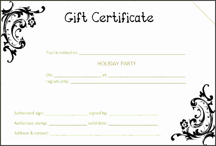 black flower t certificate template