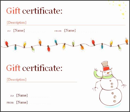 free christmas t certificate template 3f0e13b0