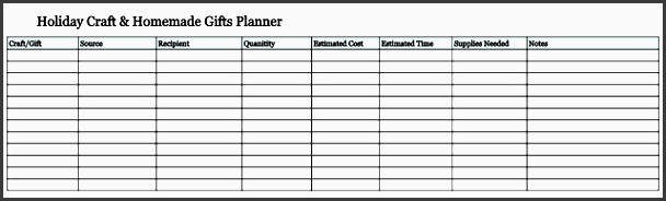 online holiday planner holiday craft homemade t planner