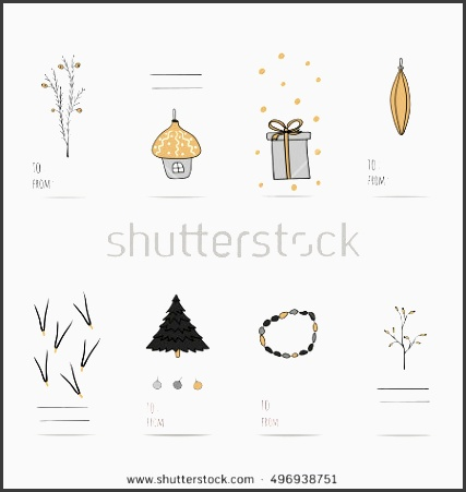 christmas t tags stickers and labels template for greeting scrap booking congratulations