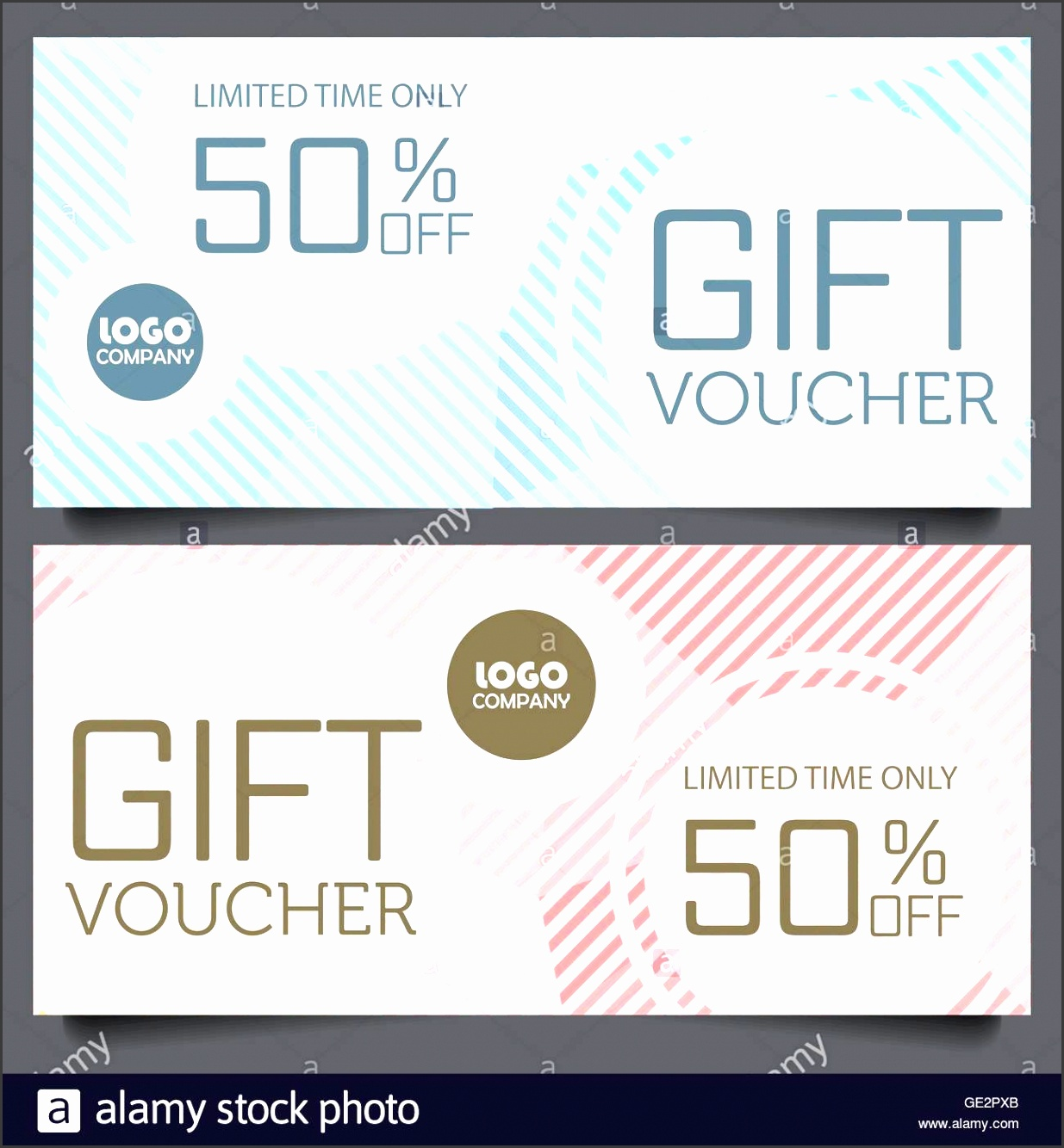 t voucher certificate coupon template cute and modern style design for girl and woman can be use for business shopping card