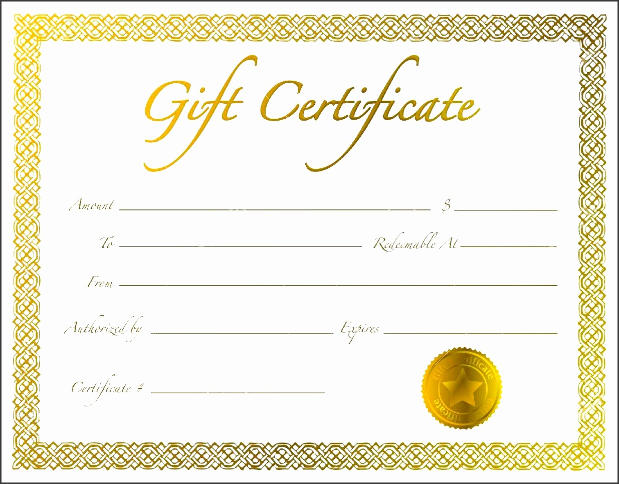 Gift Certificate Letter Template For on customizable printable, make your own, free fill, printable fill, microsoft word, microsoft office, black white,