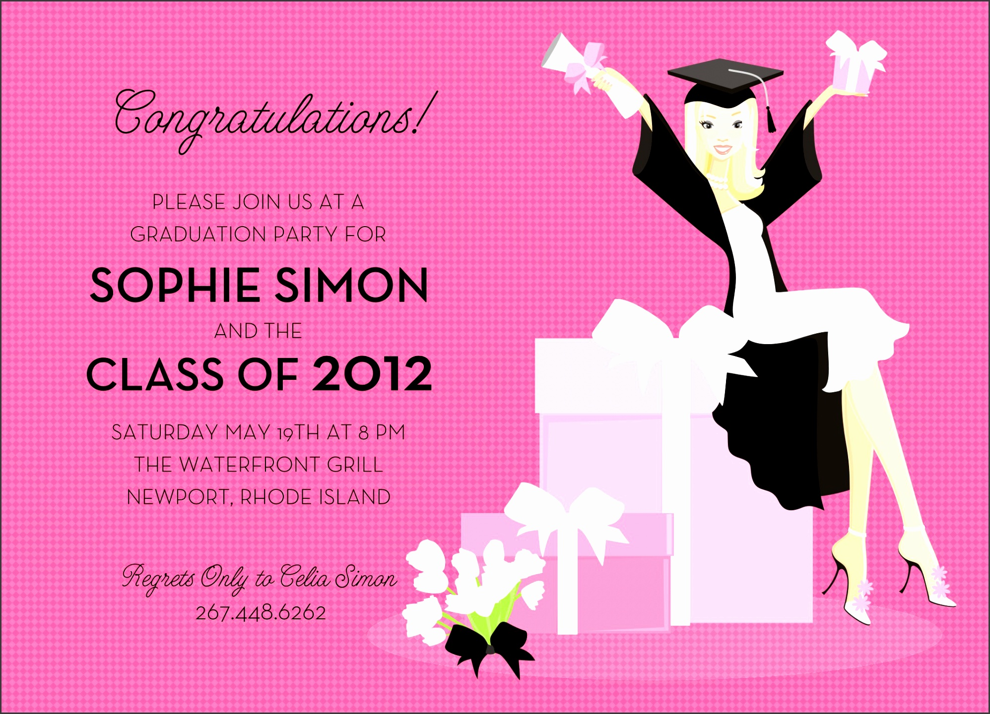 graduation party invite is an amazing ideas you must choose for graduation invitations template