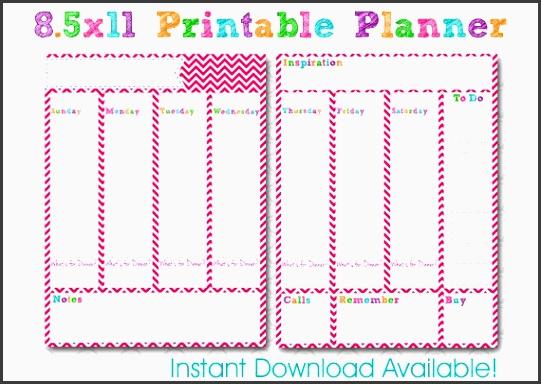 cute weekly homework planner template image gallery hcpr