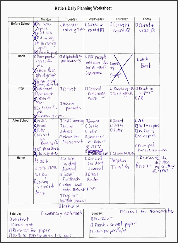 handwritten planner template click on image to enlarge