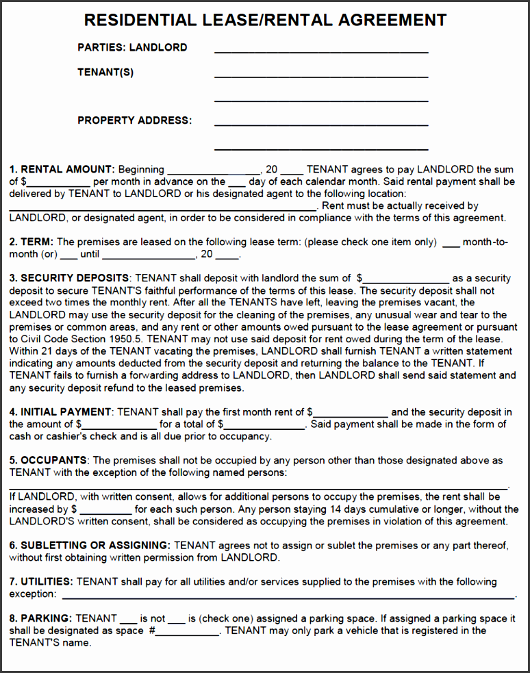 required disclosure forms