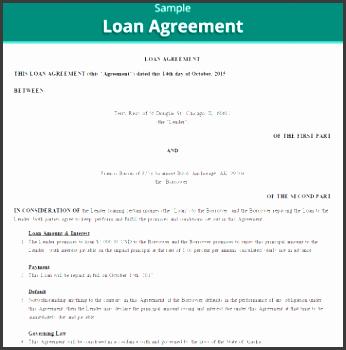 20 loan agreement templates
