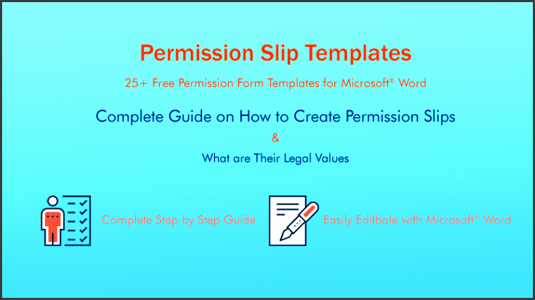 free field trip permission form templates for microsoft word