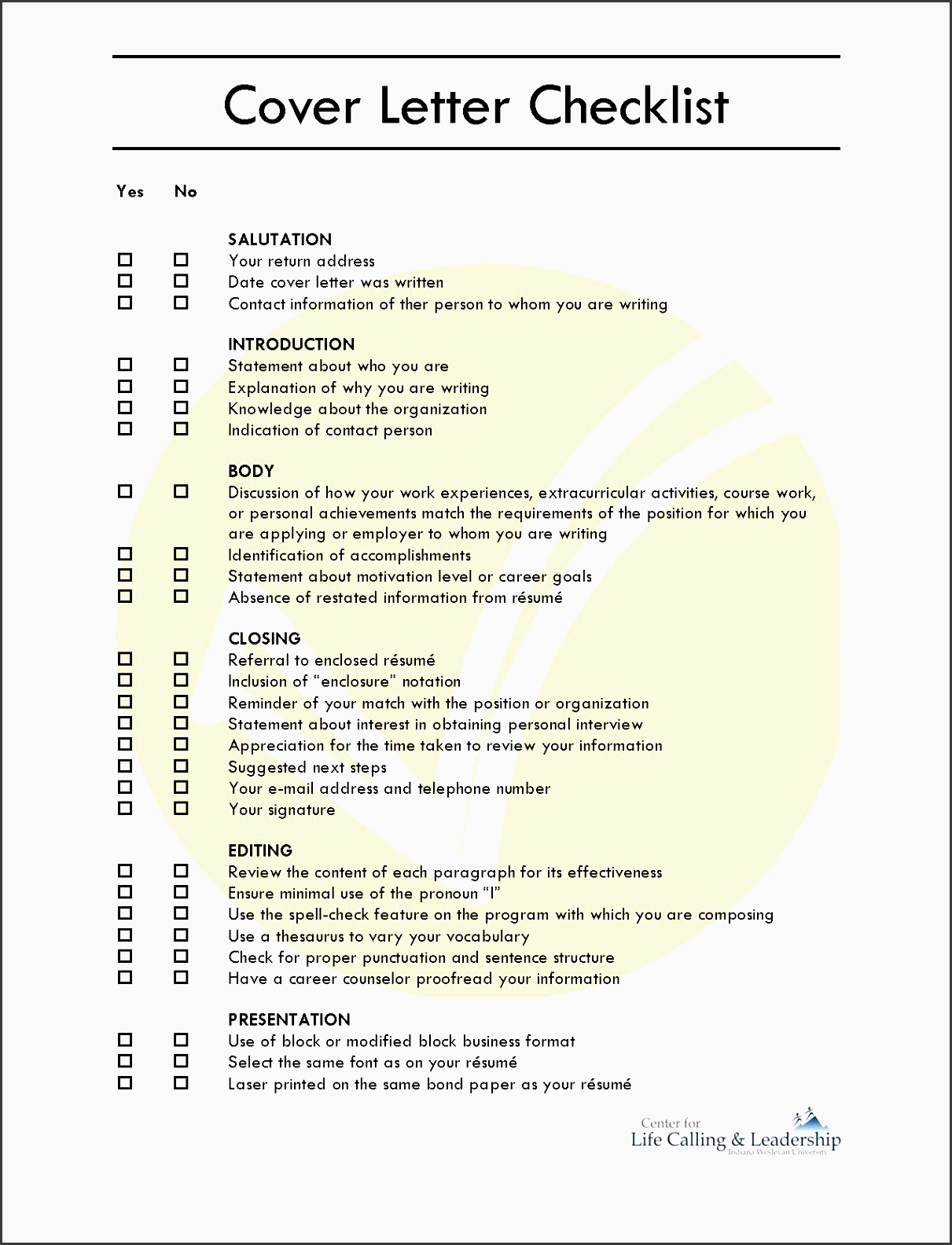 dynamic cover letter openings