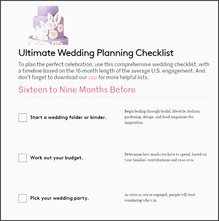 real simple s ultimate wedding planning checklist