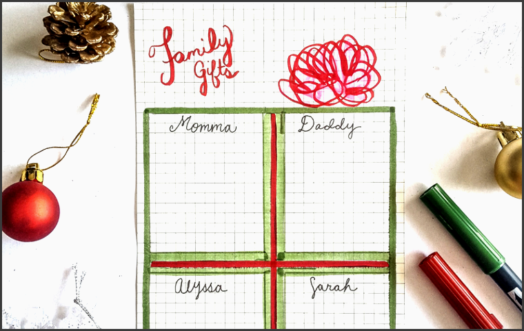journal layouts to make christmas t planning a breeze planner organization