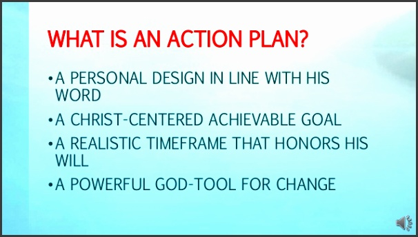 3 what is an action plan