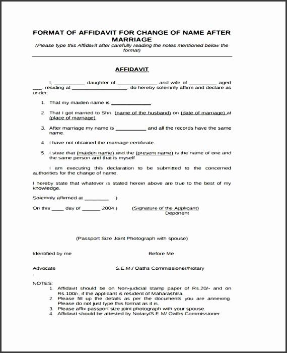 7 How To Make Affidavit Form