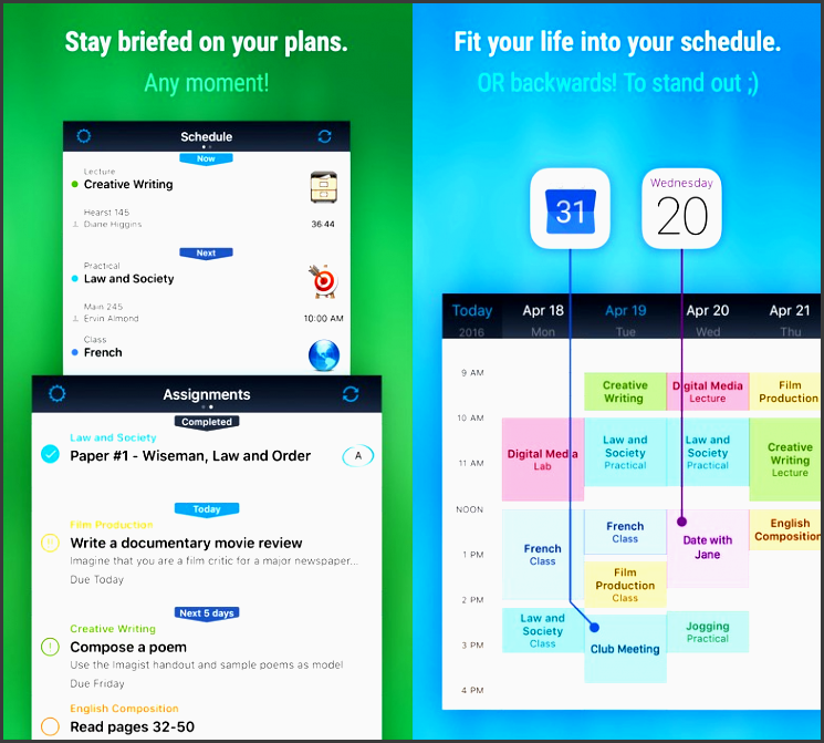 istu z pro is the ultimate class and homework planner
