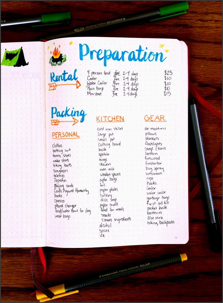 camping can be fun but it can also be stressful preparing for your trip