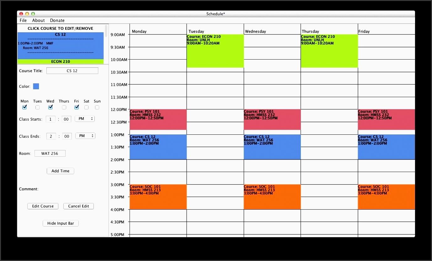 class planner online
