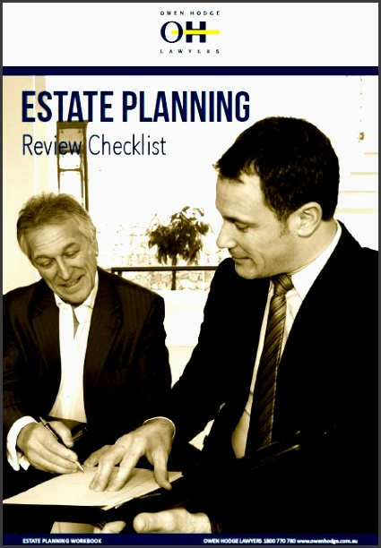 estate planning review checklist