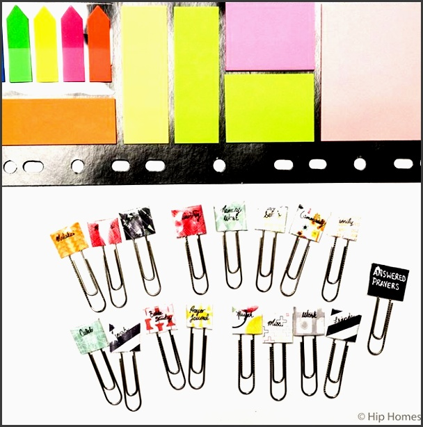 make your own tab dividers with this diyer diy diy planner diy