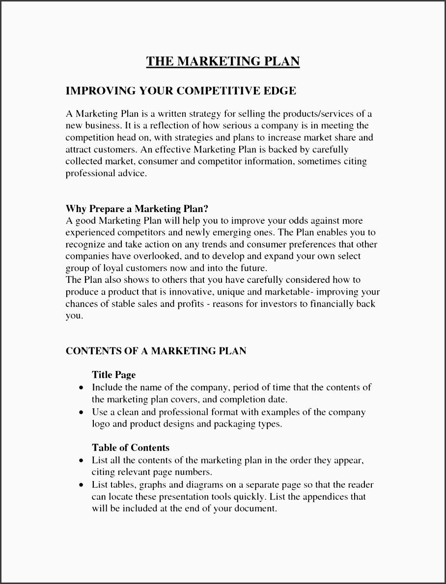 2013 b2b marketing plan template free to following is a free marketing plan sample and free marketing plan template which you can
