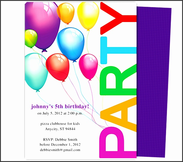 kids party invitation template birthday party invitation templates 28 birthday party invitation templates