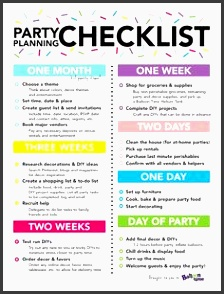 free printable party planning checklist to ensure that you don t for anything party planning checklist pinterest party planning checklist free