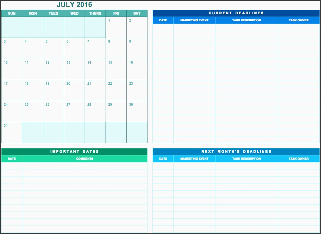 6 how to make project team communication planner in excel