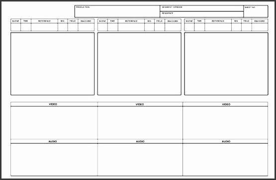 free blank printable storyboard template ms word example