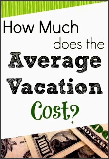 what does the average vacation cost