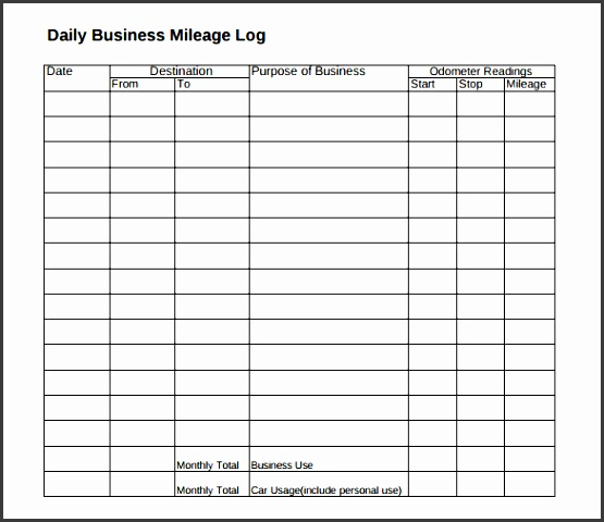 business mileage tracker