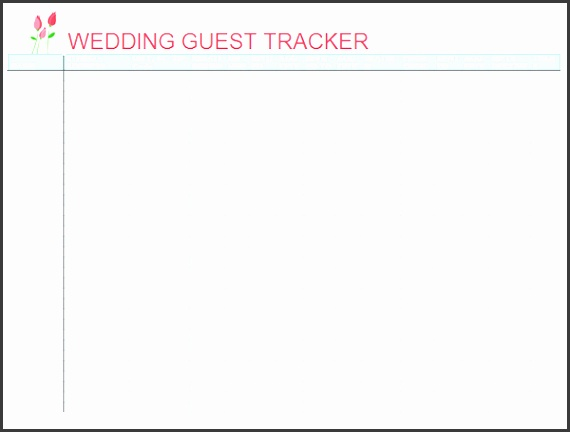 top 5 resources to free wedding guest list templates word templates excel templates