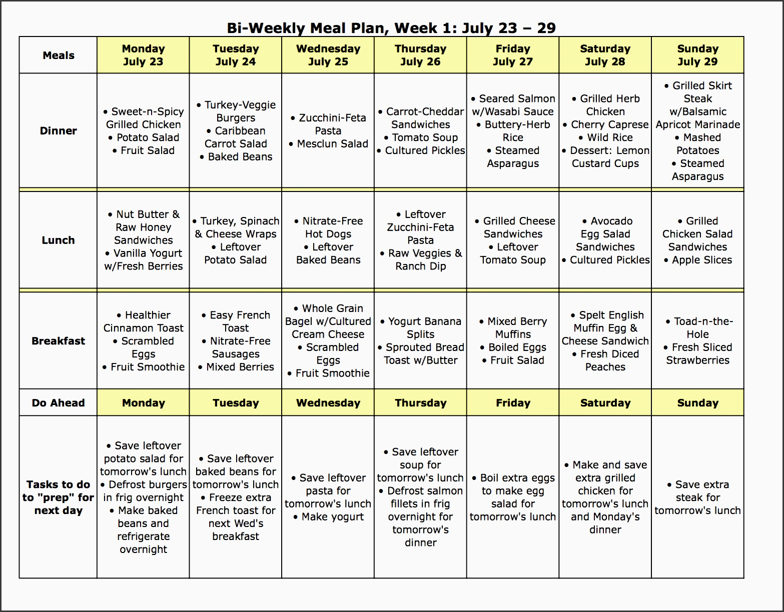 t meal plans eating well healthy recipes