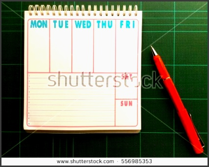 make schedule weekly planner time planning appointment