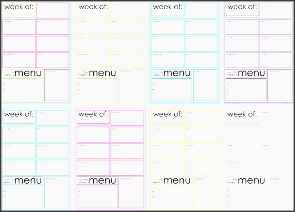all the pages are the same layout but i thought it would be fun to switch up the colors for myself anyway and make each week something different to look