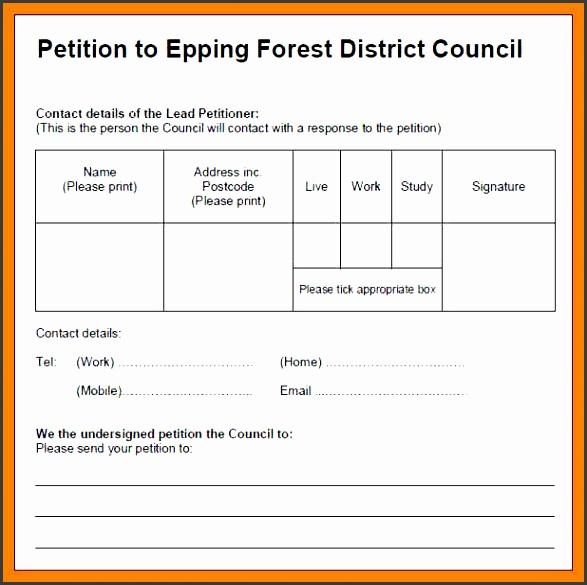 7 how to write petition  sampletemplatess  sampletemplatess