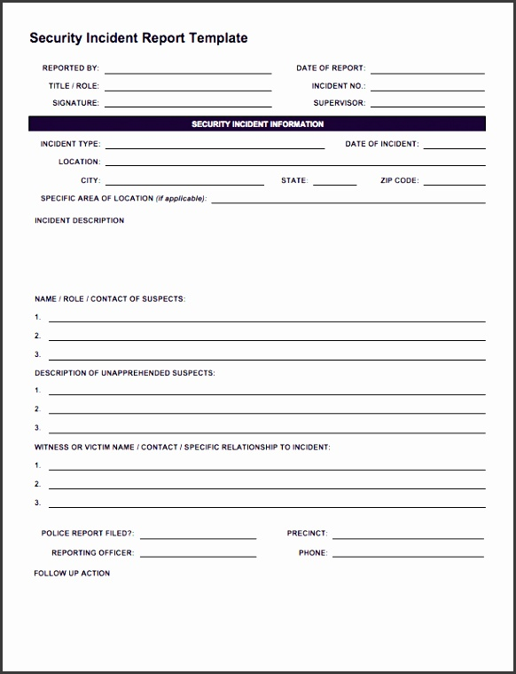 ic security incident reporting form