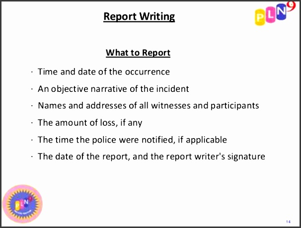 critical incident reporting crisis prevention