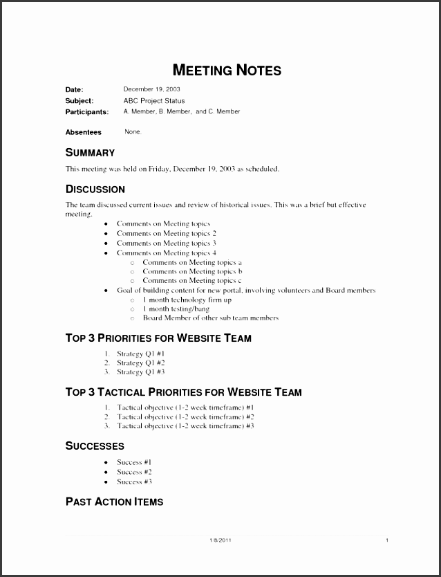 6 informal meeting agenda template - sampletemplatess
