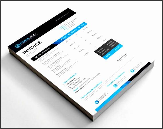 free best invoice design template
