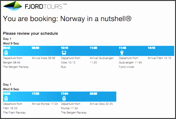 here is our 1 day norway in a nutshell itinerary which we used as an exact blueprint to book our tickets