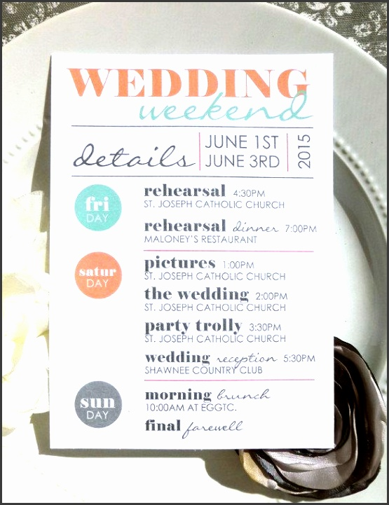 wedding itinerary template 11 free word pdf documents free premium templates