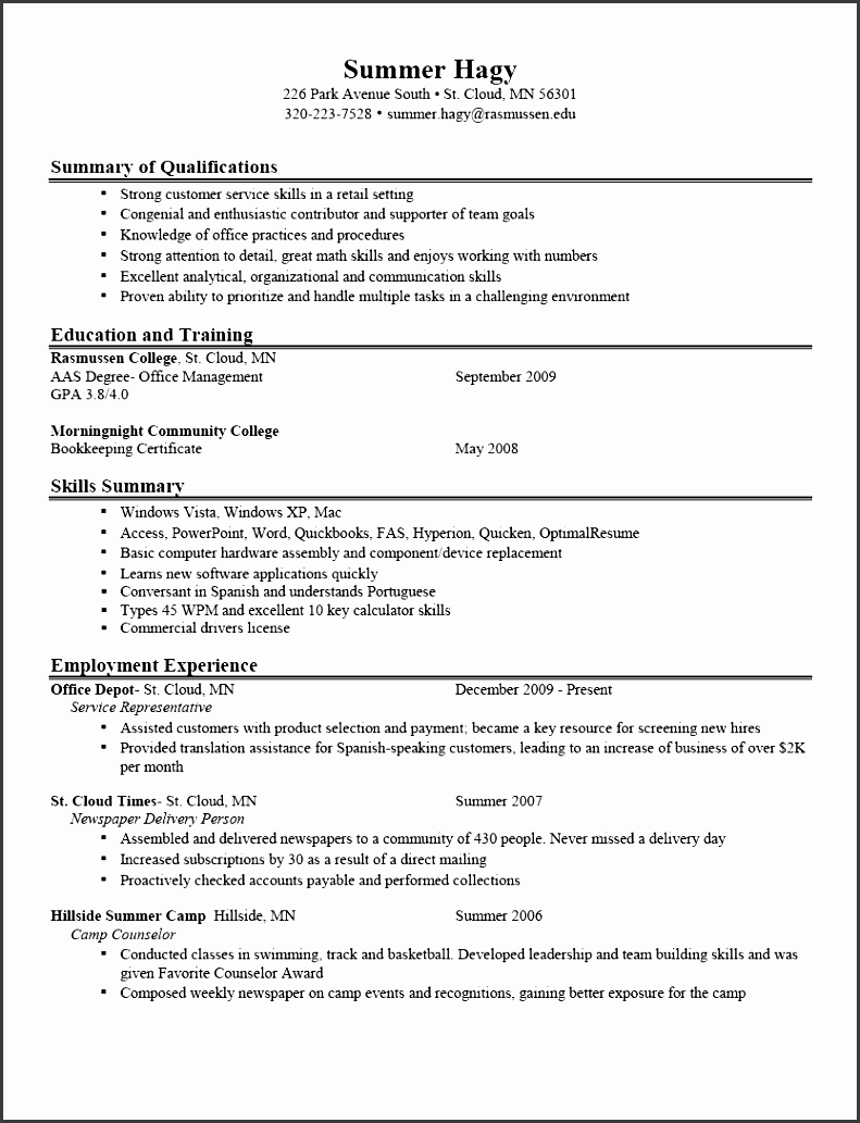 11 job description statement template - sampletemplatess