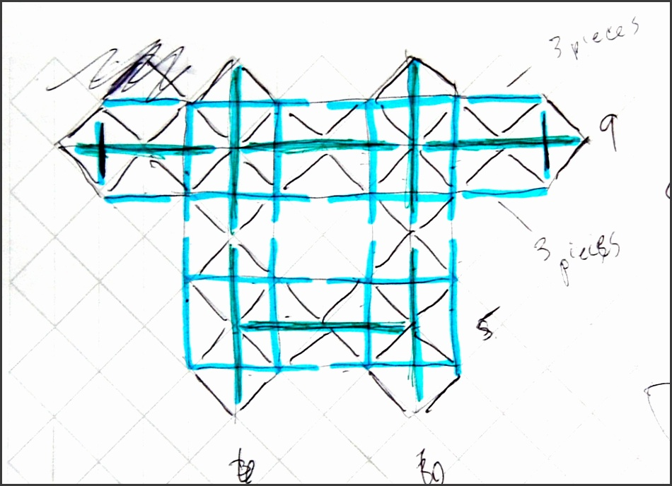 i think that i ve made some progress on framework reinforcement instead of using flat shapes made of stiff tubes why not design the framework as an octect