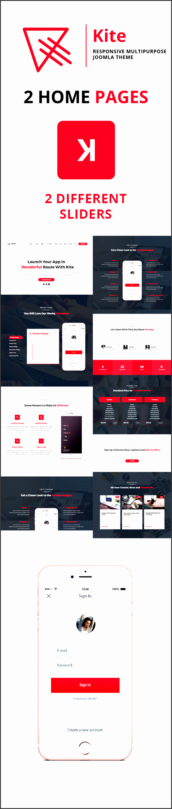 powerful helix framework drag and drop pages sp page builder pro included as free for our clients mega menu layout builder responsive menu