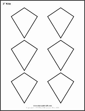 Kite Template. Photos Of Kite Template To Printer Kite Design ...