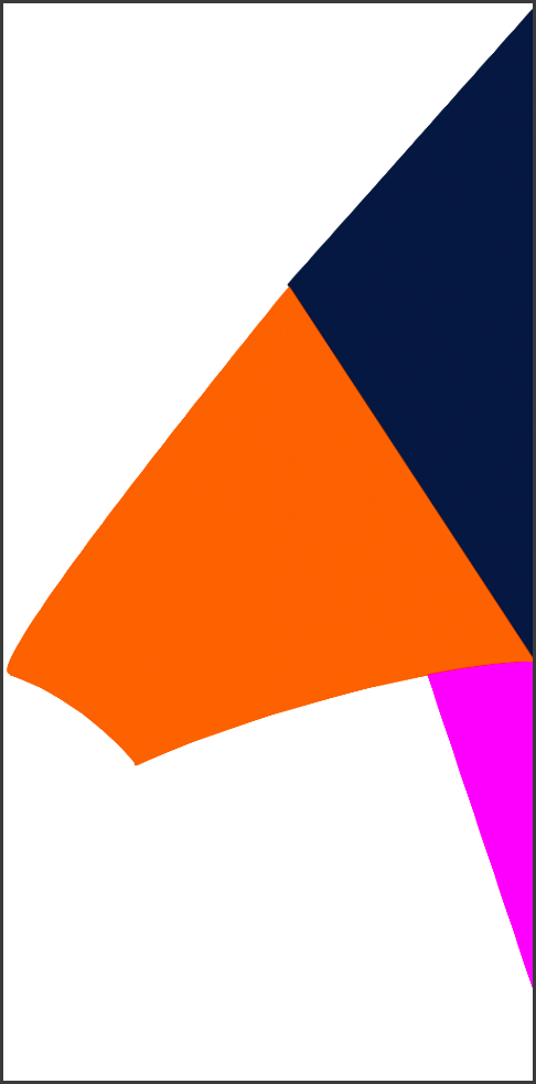 delta kite design template 01 can be used as a base guide shape